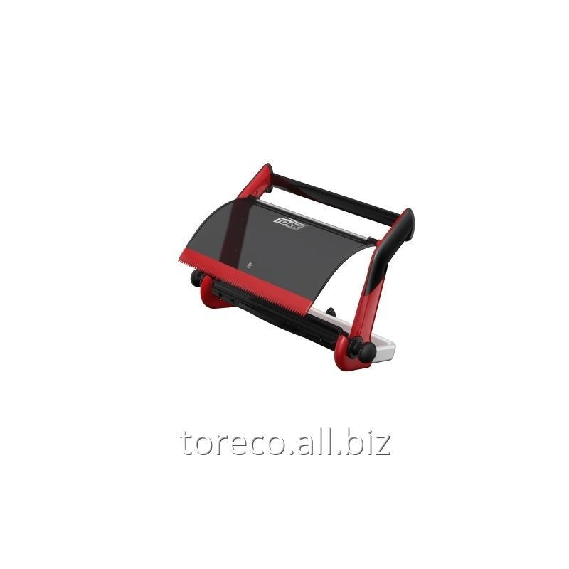 Купить Настенный диспенсер для материалов в рулоне Tork Performance, W1, 463х646х274, Красный/Черный Код: 652108