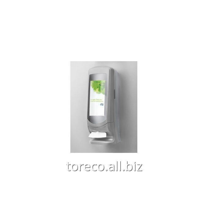 Купить Диспенсер для салфеток Interfold N4 900, 575х200х340, Серый/прозрачный Код: 272200