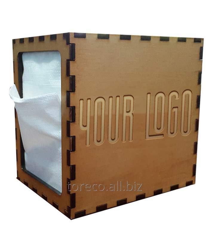 Купить Диспенсер для салфеток N2 100, 128x98x128, Handmade/Wood Код: 271801