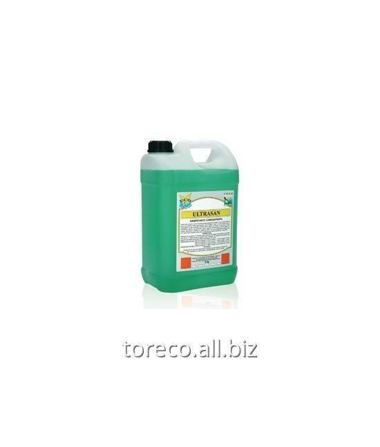 Купить Концентрированное дезинфицирующее средство без отдушки на основе полигексаметиленбигуанид гидрохлорида Ultrasan Код: PR-057/5