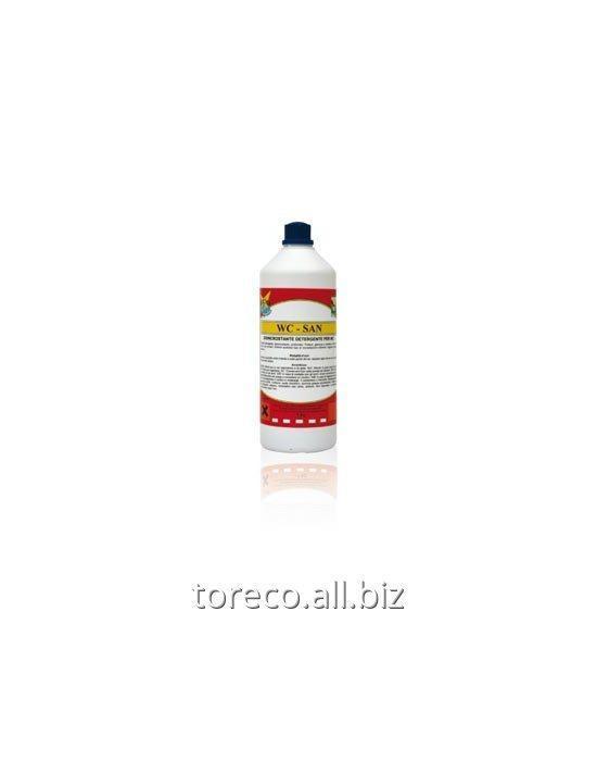 Купить Ароматизированный густой препарат для удаления известкового налета WC-SAN Код: PR-033/CF
