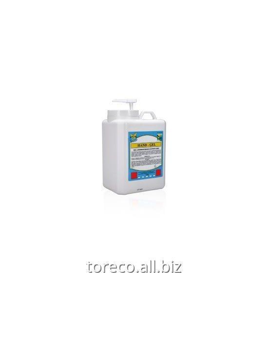 Купить Жидкий белый гель для мытья рук Hand - Gel, 5 kg Код: PR-045/5