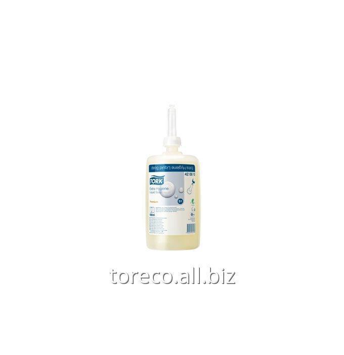 Купить Жидкое мыло для рук с улучшенными гигиеническими свойствами, S1, 1000ml/6, Без запаха, Premium Код: 420810