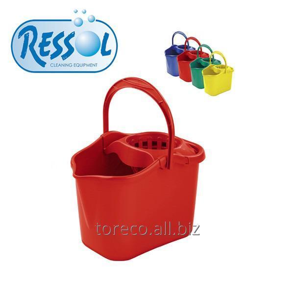 Купить Ведро с отжимом, Luxe, 13л, RED Код: 04506