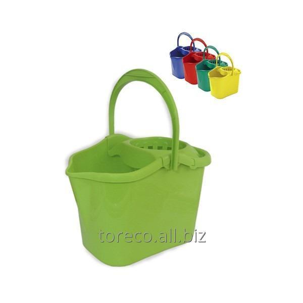 Купить Ведро с отжимом, Luxe, 13л, Green Код: 04504