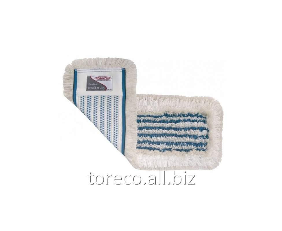 Купить МОП плоский микрофибра/хлопок Код: 302010