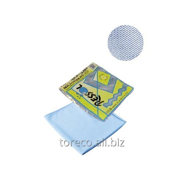 Купить Салфетки из микрофибры Microglass, Blue, 38x40 см Код: 00828