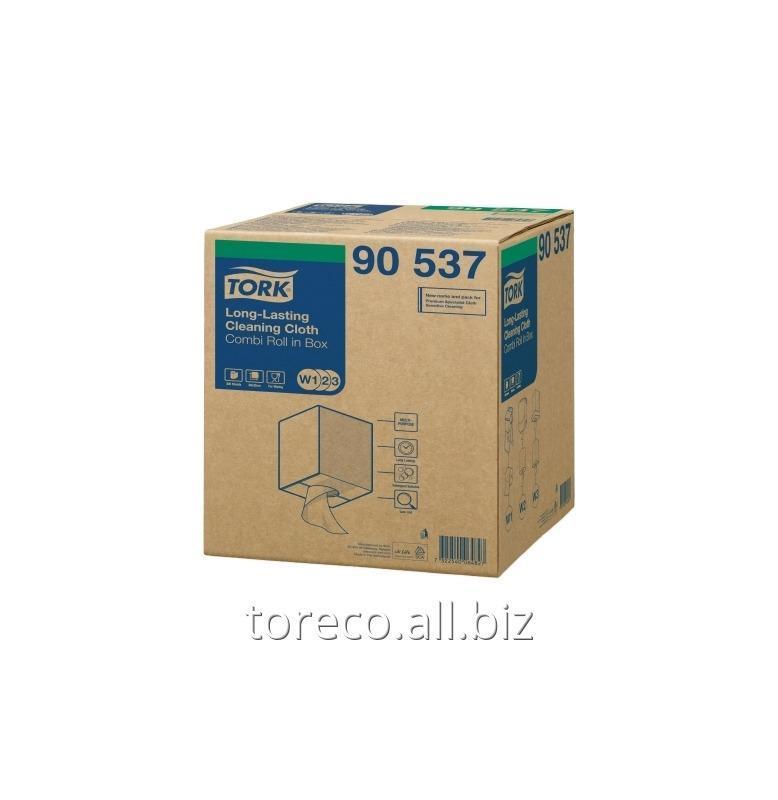 Купить Нетканый материал Tork W1-3, 70гр/м2, 114м, 38х32, 300лист., Белый, Premium Код: 90537