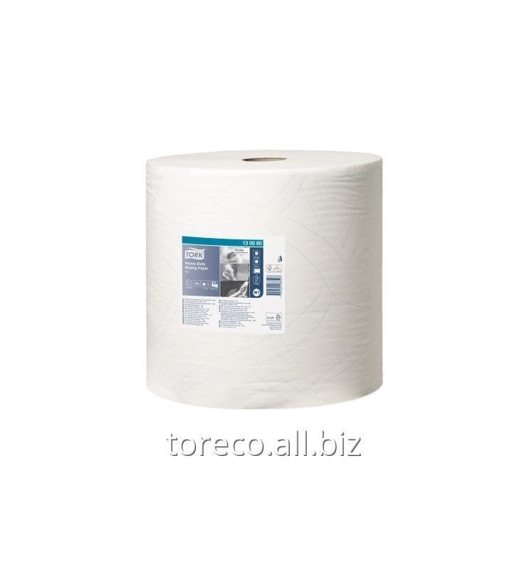 Купить Протирочная бумага 430 W1, 2сл., 340м, 34х36.9, 1000/1, Белый, Advanced Tork Код: 130060