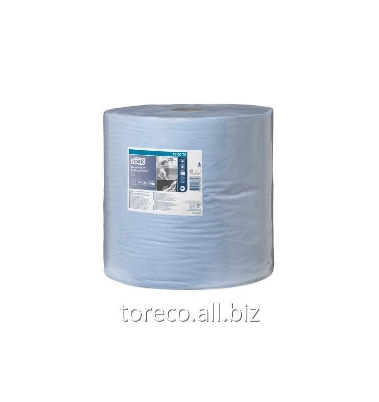 Купить Протирочная бумага Tork 430 W1, 2сл., 340м, 34х36.9, 1000/1, Голубой, Advanced Код: 130070