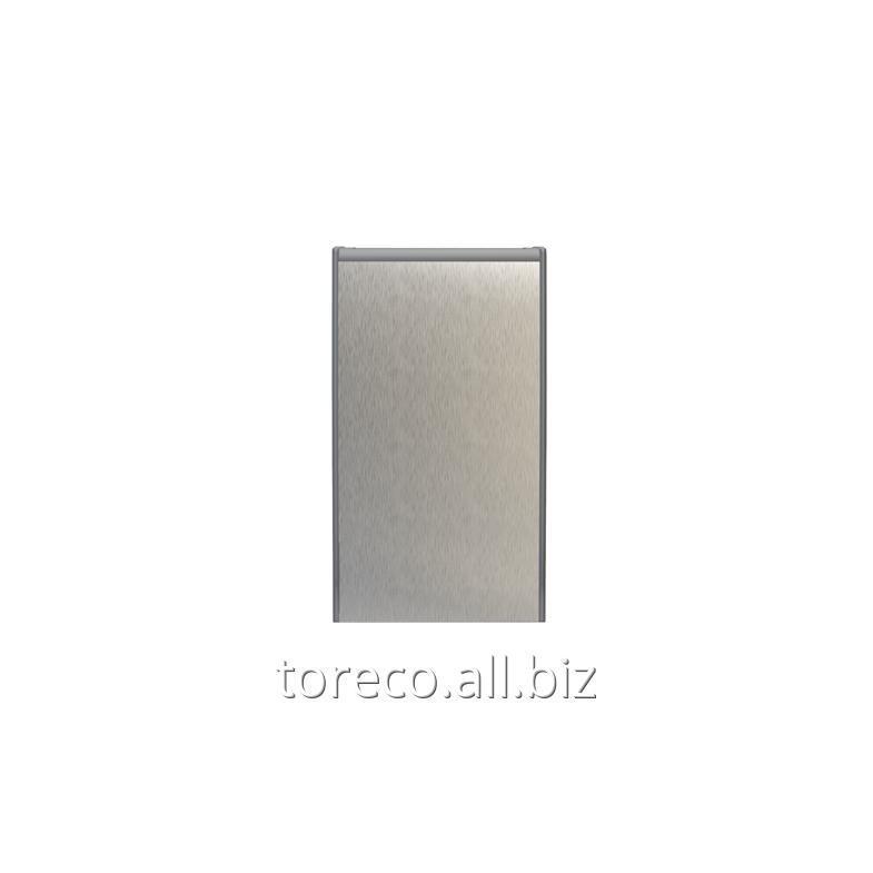 Купить Корзина для мусора Tork B1, 40L, 678х373х193, Алюминий/серый Код: 458000
