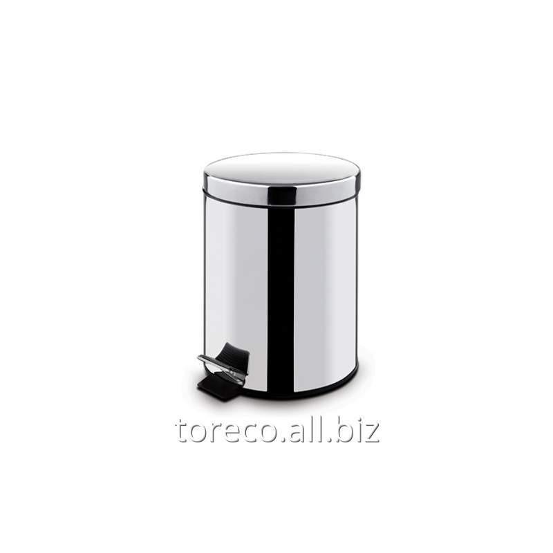Купить Круглое мусорное ведро Freedom 12l Inox Satinat Код: 612B