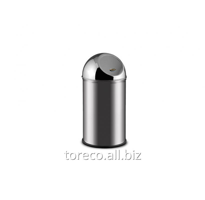 Купить Ведро для мусора Clean World 20l Inox Satinat Код: 605B