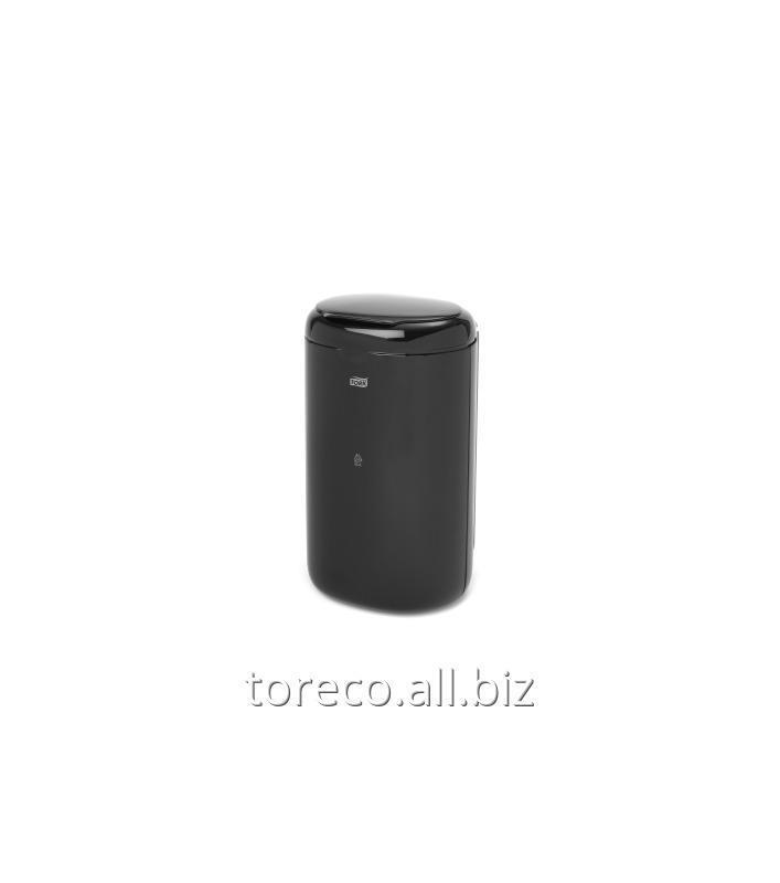 Купить Корзина для мусора Tork B3, 5L, 338х190х160, Пластик, Черный Код: 564008