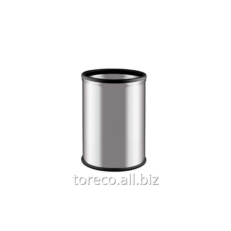 Купить Ведро для мусора Room Basket 9l, Inox Satinat Код: 606B