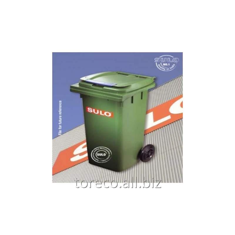 Купить Контейнер на двух транспортировочных колёсах, 360L EURO2, Зелёный Код: 2003546