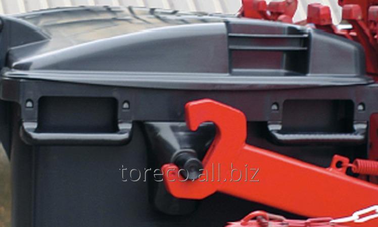 Купить Контейнер на четырёх транспортировочных колёсах, MGB1100FD, Чёрный Код: 2002290