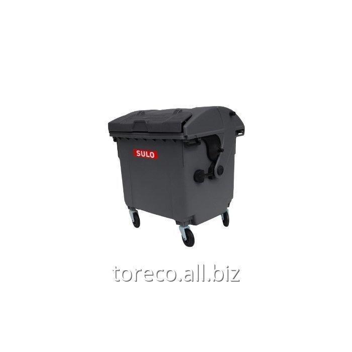 Купить Контейнер 1100 л. Круглая Крышка, MGB1100L RD DID, Чёрный Код: 2013490