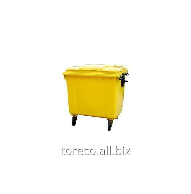 Купить Контейнер на четырёх транспортировочных колёсах, KAB1100FD, Желтый Код: 2008126