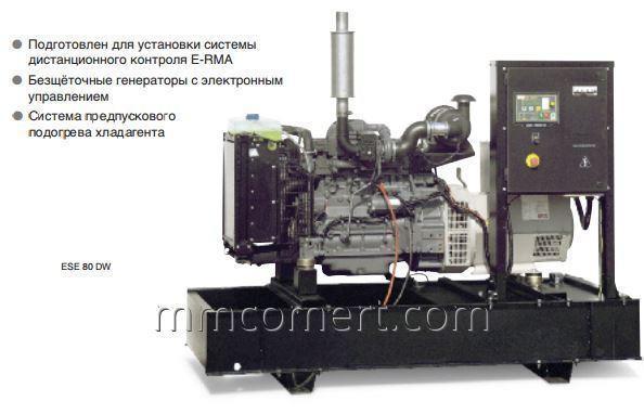 Купить Генератор для стройплощадок Basic Line ESE 80 DW