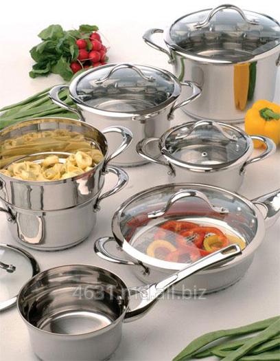 Купить Посуда из нержавеющей стали