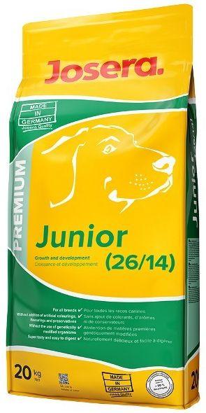 """Купить """"Josera"""" Полнорационный корм для растущих щенков премиум класса."""