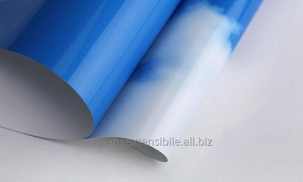 Купить Натяжной потолок с фотопечатью в стиле Облака на небе