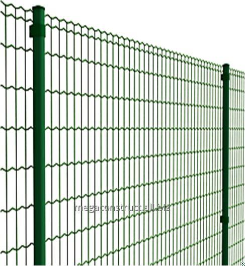 Купить Забор из сварной сетки ПВХ Supra 10 м; 50x100 мм; 3,0 мм; 1.5 м