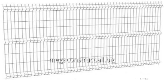 Купить Заборная система сварная панель L=2,5 м; 4,0 ОК + ПВХ; H=1,2 м