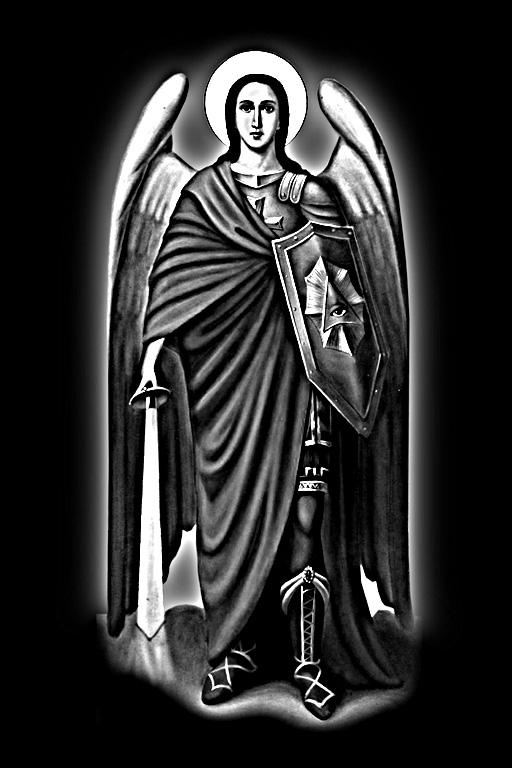 Купить Икона из гранита Аnghel Mihail 40x60
