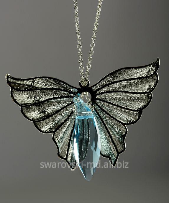 """Купить Подвеска """"Ангел"""", кристаллы SWAROVSKI"""