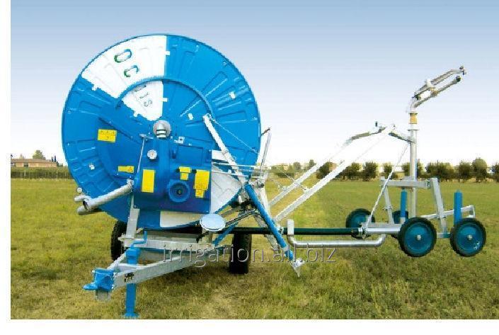 cumpără Irigarea Prin aspersiune. Masini de irigare mobil cu tambur ȘI furtun. aspersoare pentru irigații.