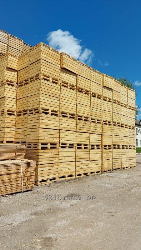 Купить Контейнеры деревянные