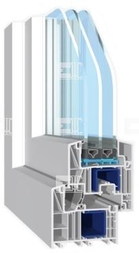 Buy WHS Halo 60 - PVC profile 4 chambers