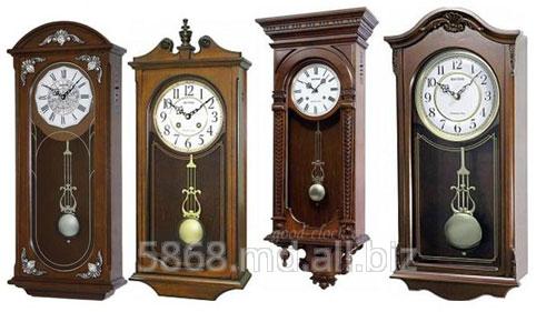 Купить Часы деревянные настенные тм RHYTHM