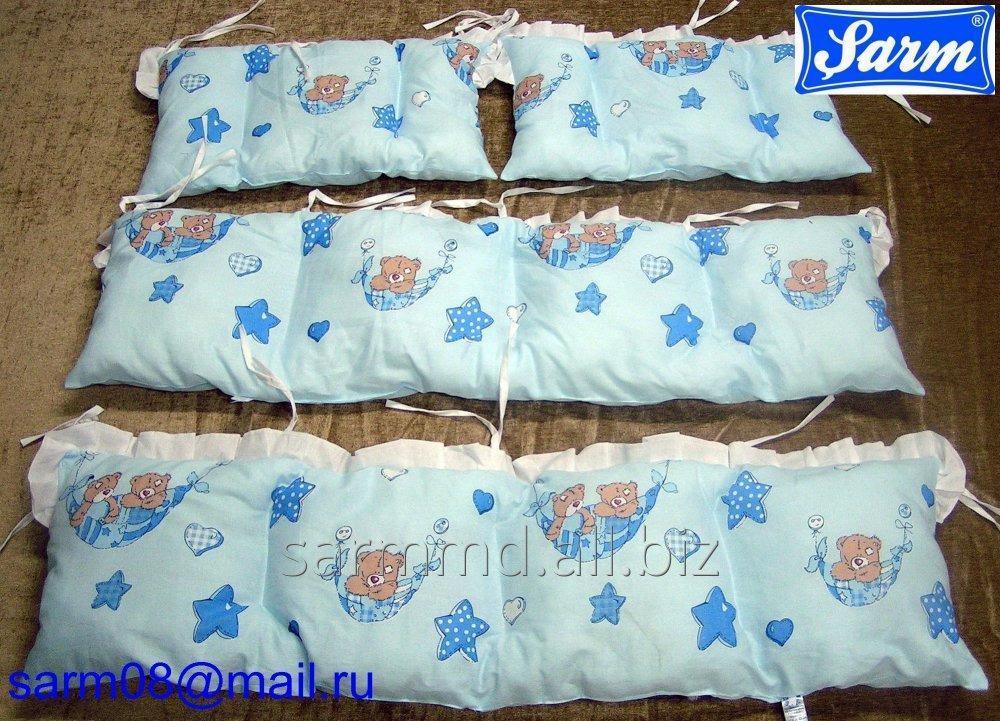 Бортики для детской кроватки. Barele de protecție pentru pătuțuri