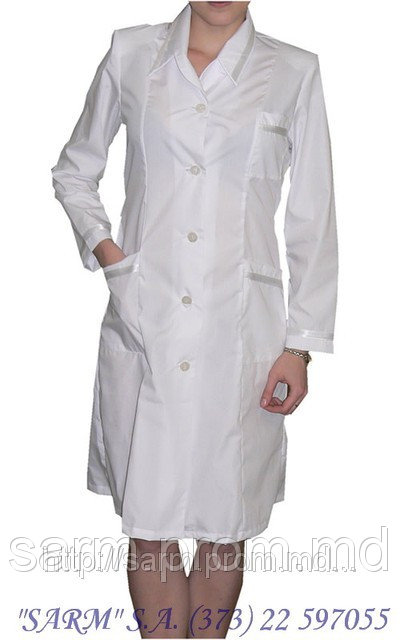 Халат медицинский модельный №1