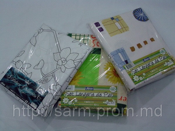 Комплект постельного белья, Евро стандарт 100% хлопок