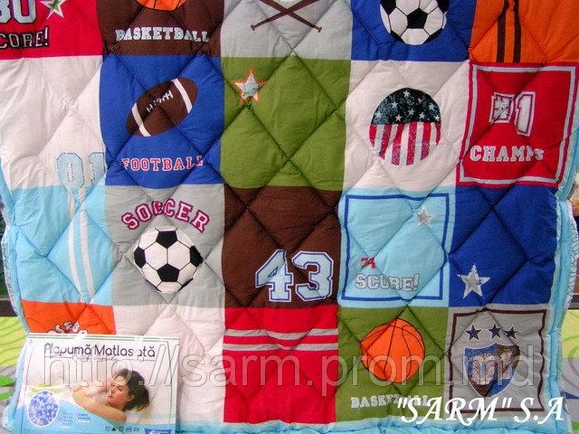 Стеганые силиконовые одеяла (145x215) - наполнитель ВАЙТБОЛ