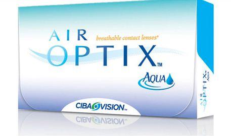 Buy Contact lenses Air Optix Aqua