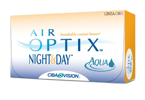 Contact lenses Air Optix Night & Day Aqua (3 pcs. Pack.)