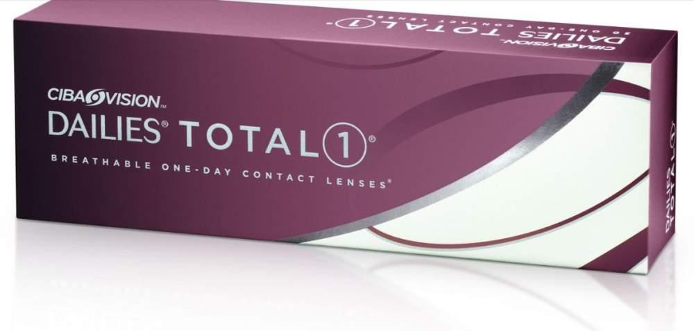 Контактные линзы Dailies Total 1 (30 шт. уп.) (Код: 124355)