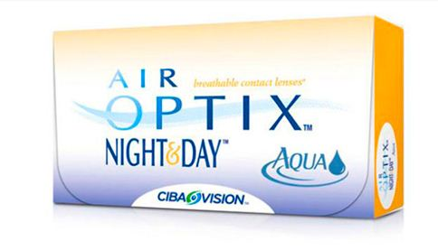 Контактные линзы Air Optix Night&Day Aqua (6 шт. уп.) (Код: 88954)