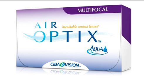 Контактные линзы Air Optix for Multifocal (6 шт. уп.) (Код: 123546)
