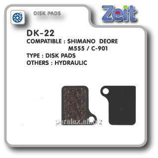Купить Колодки дисковые Zeit DK-22