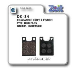 Колодки дисковые Zeit DK-34