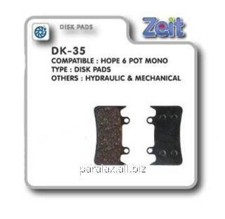 Купить Колодки дисковые Zeit DK-35