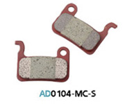 Колодки дисковые ASHIMA AD0104-MC-S w/spring