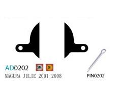 Купить Колодки дисковые ASHIMA AD0202-OR-S w/pin