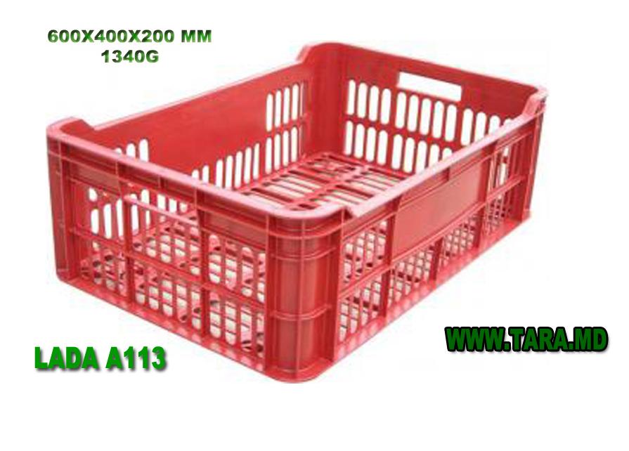 Купить Ящик пластиковый модель A113/Lada plastica model A113